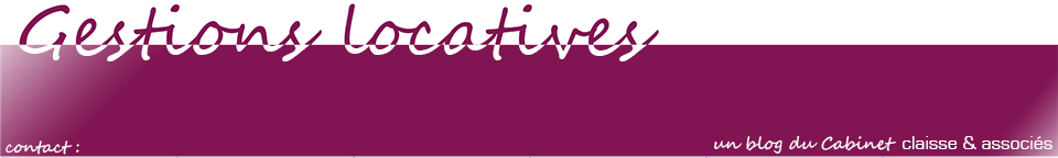 Gestions locatives | Claisse et Associés